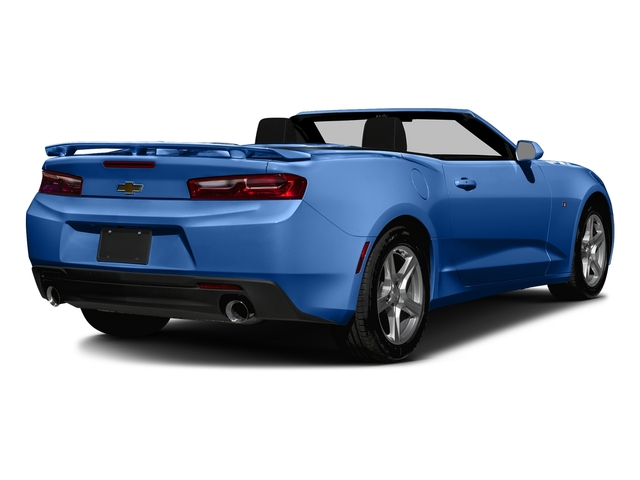 Hyper Blue Metallic 2016 Chevrolet Camaro Pictures Camaro Convertible 2D 2LT V6 photos rear view