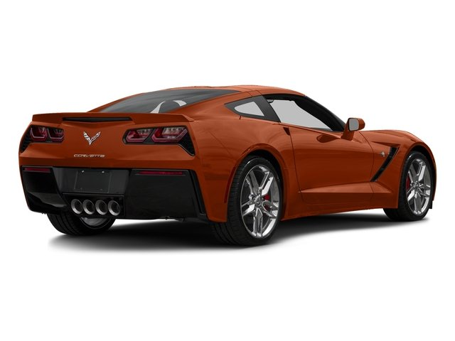 Daytona Sunrise Orange Metallic 2016 Chevrolet Corvette Pictures Corvette Coupe 2D Z51 3LT V8 photos rear view