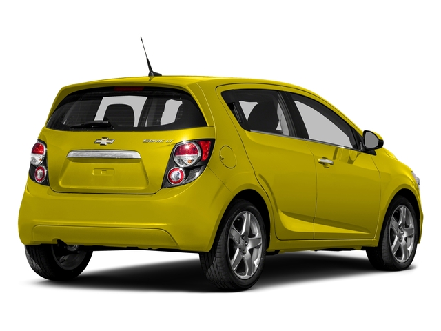 Bright Yellow 2016 Chevrolet Sonic Pictures Sonic Hatchback 5D LT I4 photos rear view