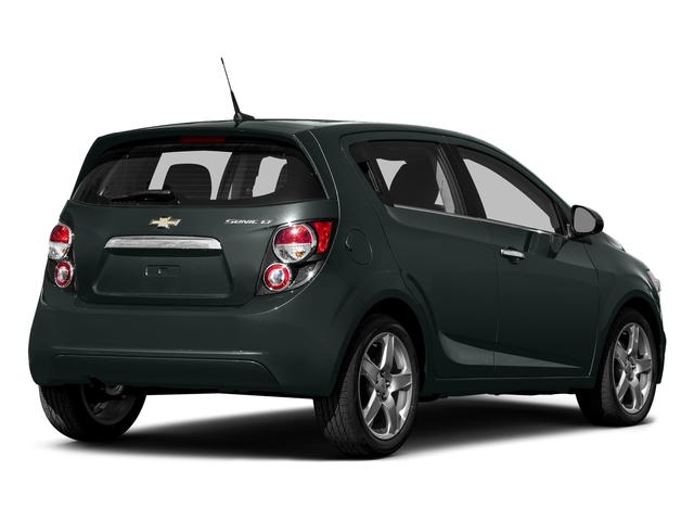 Nightfall Gray Metallic 2016 Chevrolet Sonic Pictures Sonic Hatchback 5D LT I4 photos rear view
