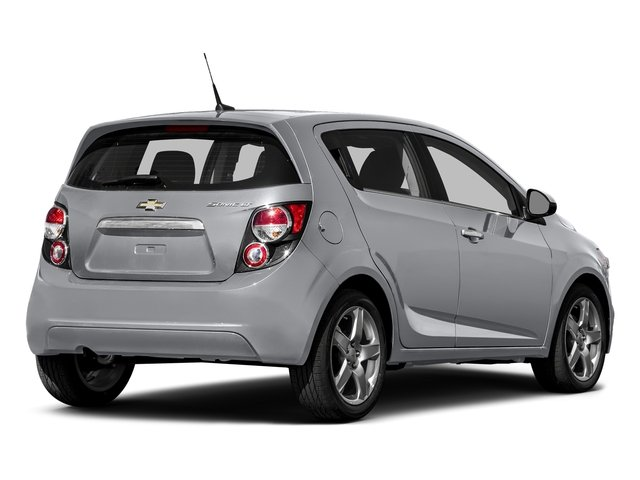 Silver Ice Metallic 2016 Chevrolet Sonic Pictures Sonic Hatchback 5D LT I4 photos rear view