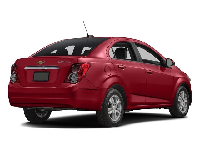 Crystal Red Tintcoat 2016 Chevrolet Sonic Pictures Sonic Sedan 4D LT I4 photos rear view