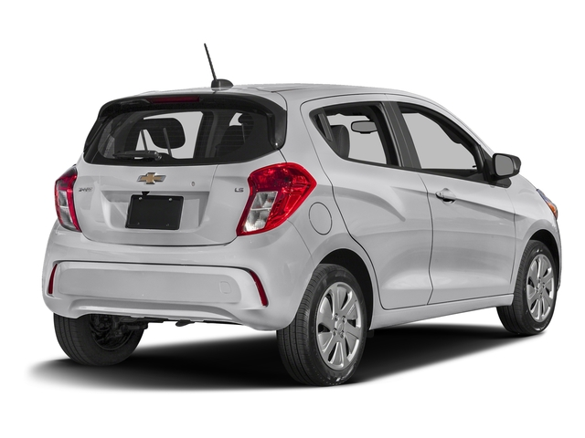 Silver Ice 2016 Chevrolet Spark Pictures Spark Hatchback 5D LS I4 photos rear view