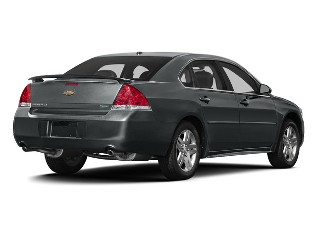 Ashen Gray Metallic 2016 Chevrolet Impala Limited Pictures Impala Limited Sedan 4D LT V6 photos rear view