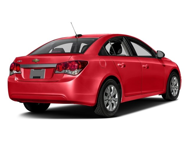 Red Hot 2016 Chevrolet Cruze Limited Pictures Cruze Limited Sedan 4D LS I4 photos rear view