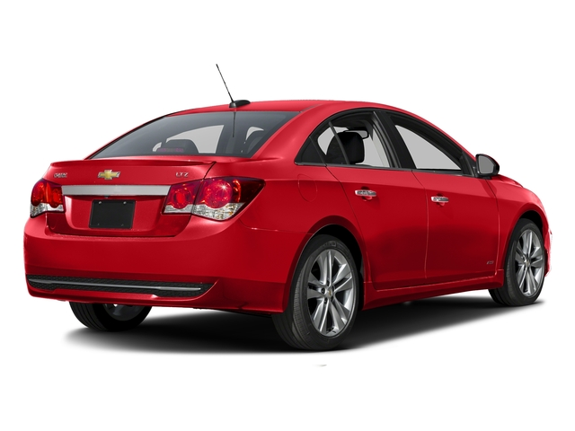 Red Hot 2016 Chevrolet Cruze Limited Pictures Cruze Limited Sedan 4D LTZ I4 Turbo photos rear view