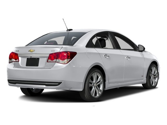 Silver Ice Metallic 2016 Chevrolet Cruze Limited Pictures Cruze Limited Sedan 4D LTZ I4 Turbo photos rear view