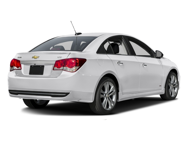 Summit White 2016 Chevrolet Cruze Limited Pictures Cruze Limited Sedan 4D LTZ I4 Turbo photos rear view