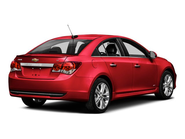 Siren Red Tintcoat 2016 Chevrolet Cruze Limited Pictures Cruze Limited Sedan 4D 2LT I4 Turbo photos rear view