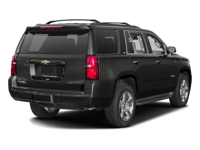 Tungsten Metallic 2016 Chevrolet Tahoe Pictures Tahoe Utility 4D Police 2WD V8 photos rear view