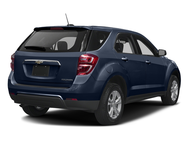Blue Velvet Metallic 2016 Chevrolet Equinox Pictures Equinox Utility 4D LS AWD photos rear view
