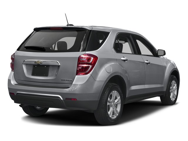 Silver Ice Metallic 2016 Chevrolet Equinox Pictures Equinox Utility 4D LS AWD photos rear view