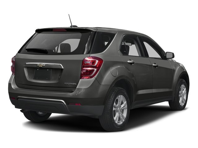 Tungsten Metallic 2016 Chevrolet Equinox Pictures Equinox Utility 4D LS AWD photos rear view