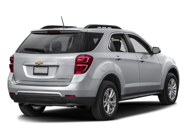 Silver Ice Metallic 2016 Chevrolet Equinox Pictures Equinox Utility 4D LT 2WD photos rear view