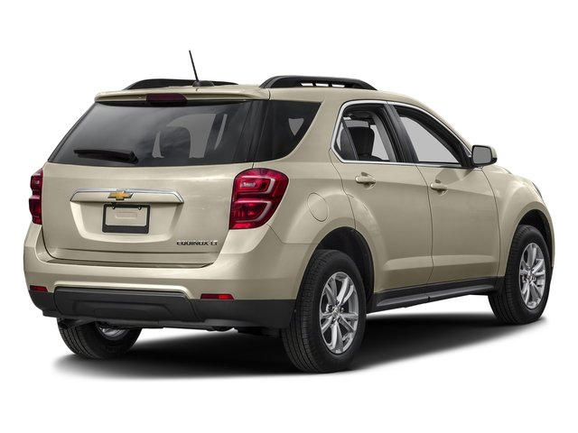 Champagne Silver Metallic 2016 Chevrolet Equinox Pictures Equinox Utility 4D LT 2WD photos rear view