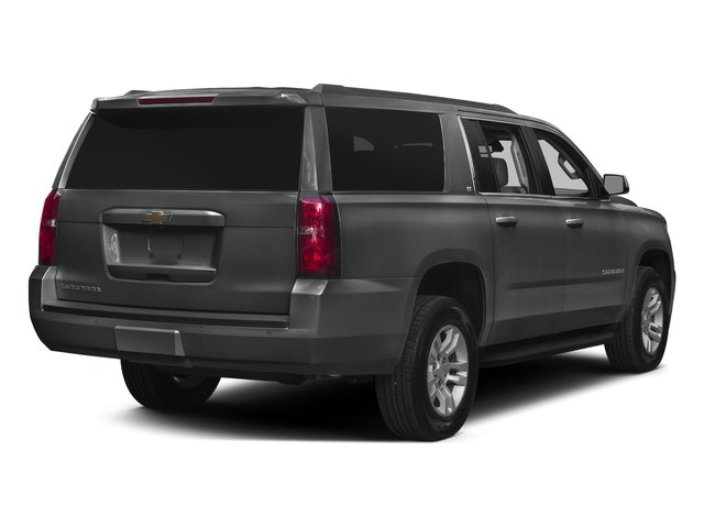 Slate Grey Metallic 2016 Chevrolet Suburban Pictures Suburban Utility 4D LT 4WD V8 photos rear view