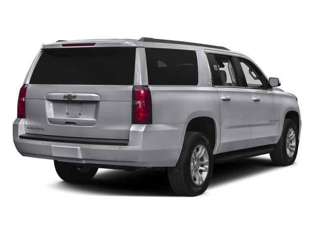 Silver Ice Metallic 2016 Chevrolet Suburban Pictures Suburban Utility 4D LT 4WD V8 photos rear view