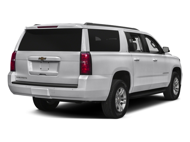 Summit White 2016 Chevrolet Suburban Pictures Suburban Utility 4D LT 4WD V8 photos rear view