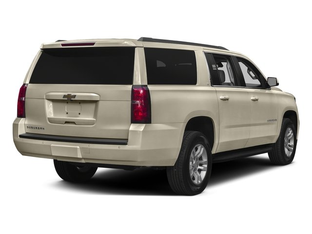 Champagne Silver Metallic 2016 Chevrolet Suburban Pictures Suburban Utility 4D LS 2WD V8 photos rear view