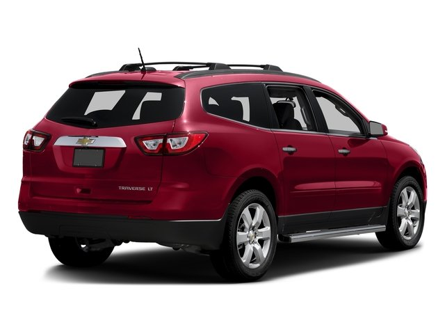 Siren Red Tintcoat 2016 Chevrolet Traverse Pictures Traverse Utility 4D LT AWD V6 photos rear view