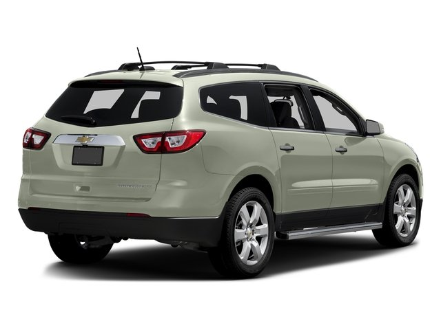Iridescent Pearl Tricoat 2016 Chevrolet Traverse Pictures Traverse Utility 4D LT AWD V6 photos rear view