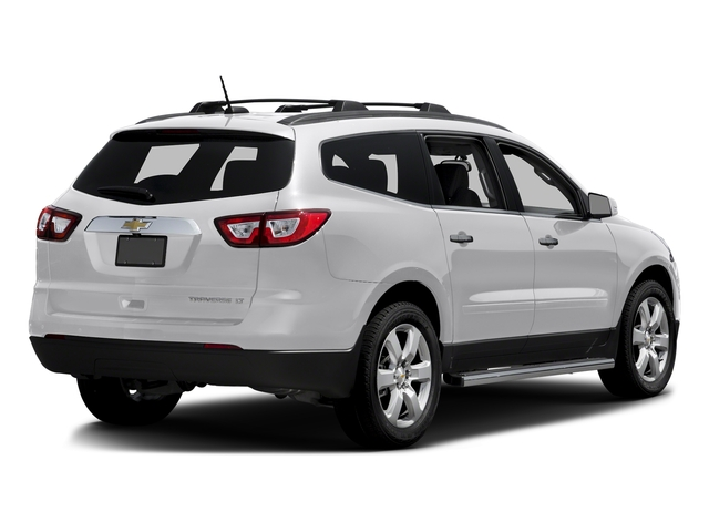 Summit White 2016 Chevrolet Traverse Pictures Traverse Utility 4D LT AWD V6 photos rear view