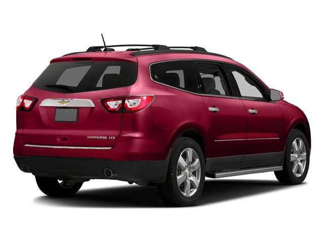 Siren Red Tintcoat 2016 Chevrolet Traverse Pictures Traverse Utility 4D LTZ 2WD V6 photos rear view