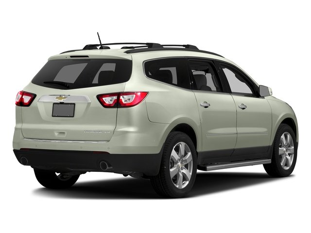 Iridescent Pearl Tricoat 2016 Chevrolet Traverse Pictures Traverse Utility 4D LTZ 2WD V6 photos rear view