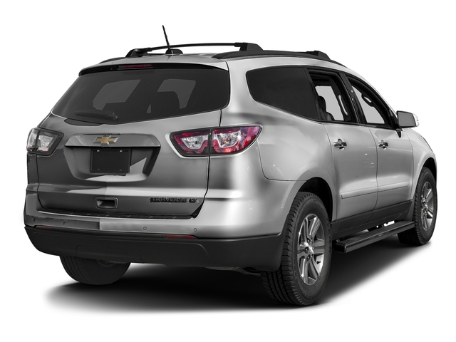 Silver Ice Metallic 2016 Chevrolet Traverse Pictures Traverse Utility 4D 2LT AWD V6 photos rear view