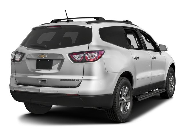 Summit White 2016 Chevrolet Traverse Pictures Traverse Utility 4D 2LT AWD V6 photos rear view