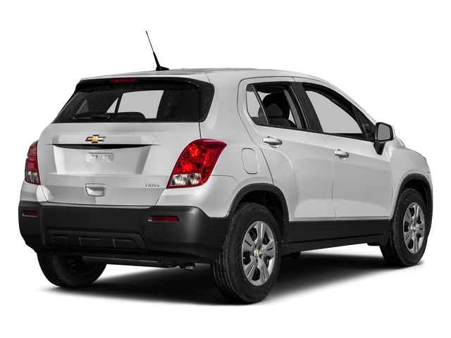 Summit White 2016 Chevrolet Trax Pictures Trax Utility 4D LS AWD I4 Turbo photos rear view
