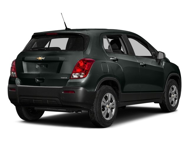 Cyber Gray Metallic 2016 Chevrolet Trax Pictures Trax Utility 4D LS AWD I4 Turbo photos rear view