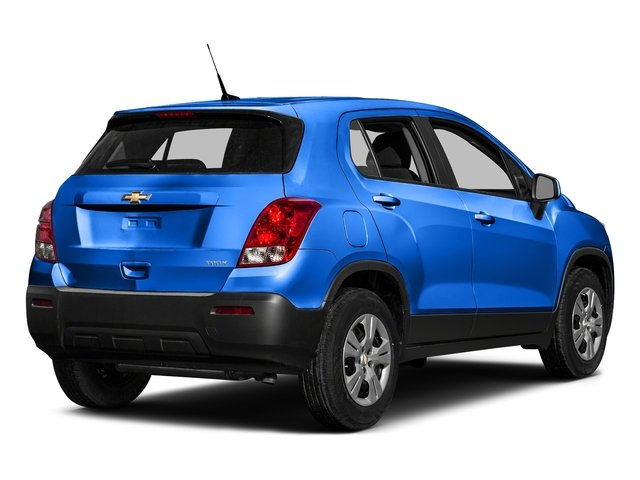 Brilliant Blue Metallic 2016 Chevrolet Trax Pictures Trax Utility 4D LS AWD I4 Turbo photos rear view
