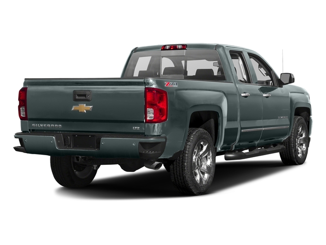 Slate Grey Metallic 2016 Chevrolet Silverado 1500 Pictures Silverado 1500 Extended Cab LTZ 2WD photos rear view