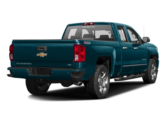 Deep Ocean Blue Metallic 2016 Chevrolet Silverado 1500 Pictures Silverado 1500 Extended Cab LTZ 2WD photos rear view