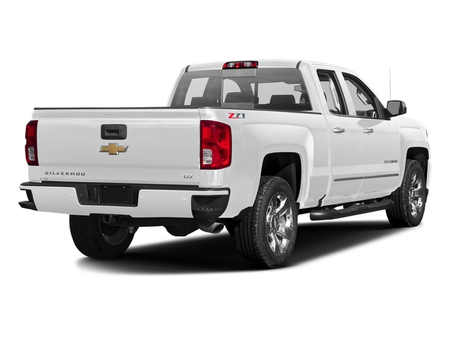Summit White 2016 Chevrolet Silverado 1500 Pictures Silverado 1500 Extended Cab LTZ 2WD photos rear view
