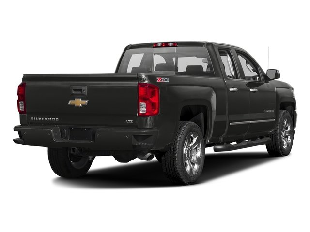 Tungsten Metallic 2016 Chevrolet Silverado 1500 Pictures Silverado 1500 Extended Cab LTZ 2WD photos rear view