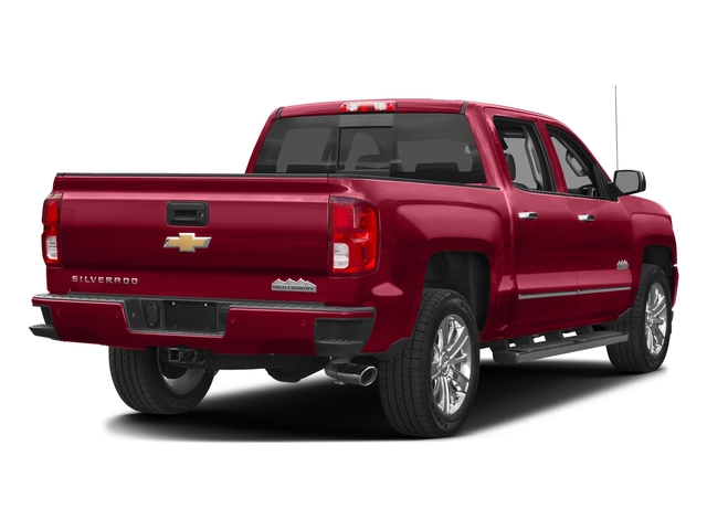Siren Red Tintcoat 2016 Chevrolet Silverado 1500 Pictures Silverado 1500 Crew Cab High Country 2WD photos rear view