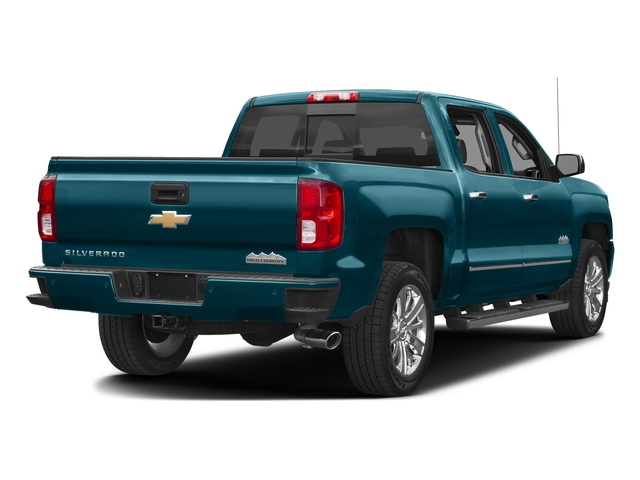 Deep Ocean Blue Metallic 2016 Chevrolet Silverado 1500 Pictures Silverado 1500 Crew Cab High Country 2WD photos rear view