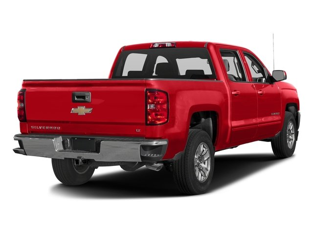 Red Hot 2016 Chevrolet Silverado 1500 Pictures Silverado 1500 Crew Cab Custom 2WD photos rear view