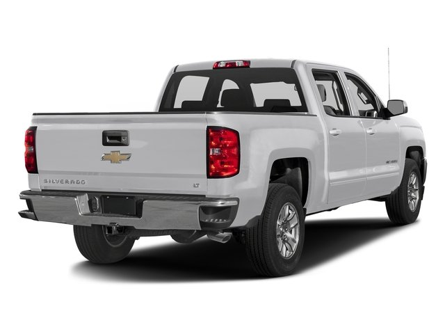 Silver Ice Metallic 2016 Chevrolet Silverado 1500 Pictures Silverado 1500 Crew Cab Custom 2WD photos rear view