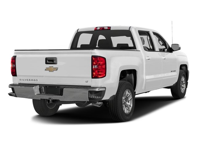 Summit White 2016 Chevrolet Silverado 1500 Pictures Silverado 1500 Crew Cab Custom 2WD photos rear view