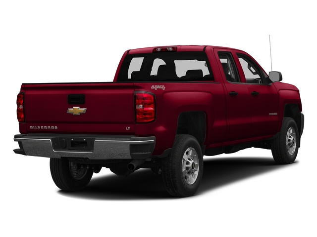 Siren Red Tintcoat 2016 Chevrolet Silverado 2500HD Pictures Silverado 2500HD Extended Cab LT 4WD photos rear view