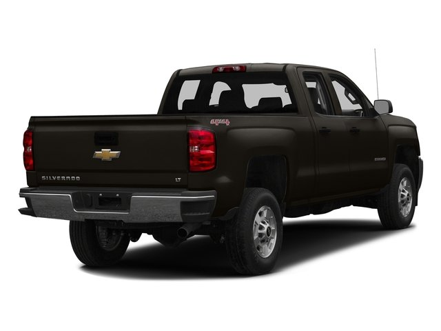 Autumn Bronze Metallic 2016 Chevrolet Silverado 2500HD Pictures Silverado 2500HD Extended Cab LT 4WD photos rear view