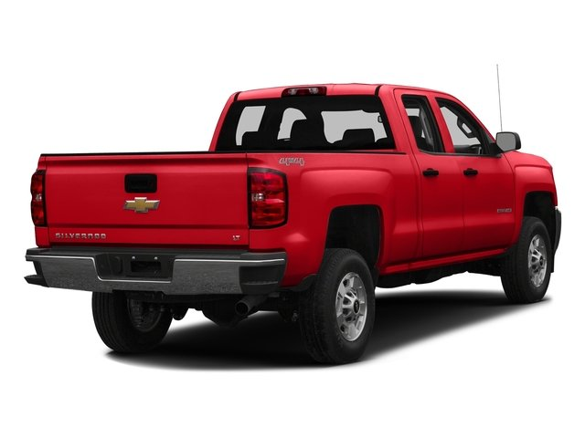 Red Hot 2016 Chevrolet Silverado 2500HD Pictures Silverado 2500HD Extended Cab LT 4WD photos rear view