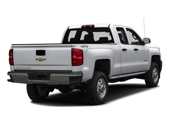 Silver Ice Metallic 2016 Chevrolet Silverado 2500HD Pictures Silverado 2500HD Extended Cab LT 4WD photos rear view