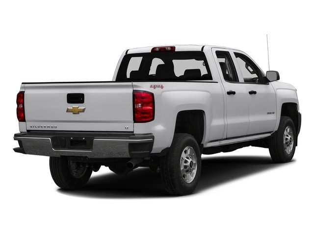 Summit White 2016 Chevrolet Silverado 2500HD Pictures Silverado 2500HD Extended Cab LT 4WD photos rear view