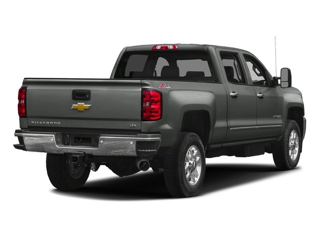 Slate Grey Metallic 2016 Chevrolet Silverado 2500HD Pictures Silverado 2500HD Crew Cab LTZ 2WD photos rear view
