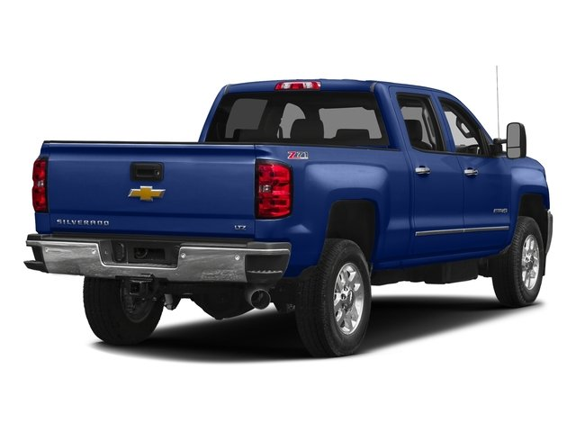 Deep Ocean Blue Metallic 2016 Chevrolet Silverado 2500HD Pictures Silverado 2500HD Crew Cab LTZ 2WD photos rear view