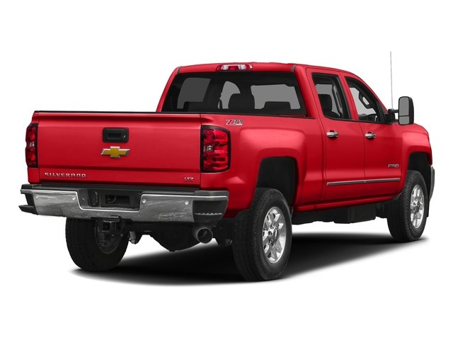 Red Hot 2016 Chevrolet Silverado 2500HD Pictures Silverado 2500HD Crew Cab LTZ 2WD photos rear view